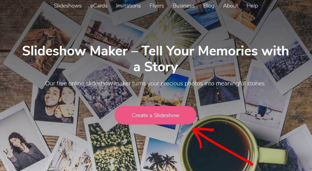 Create a Slideshow Button