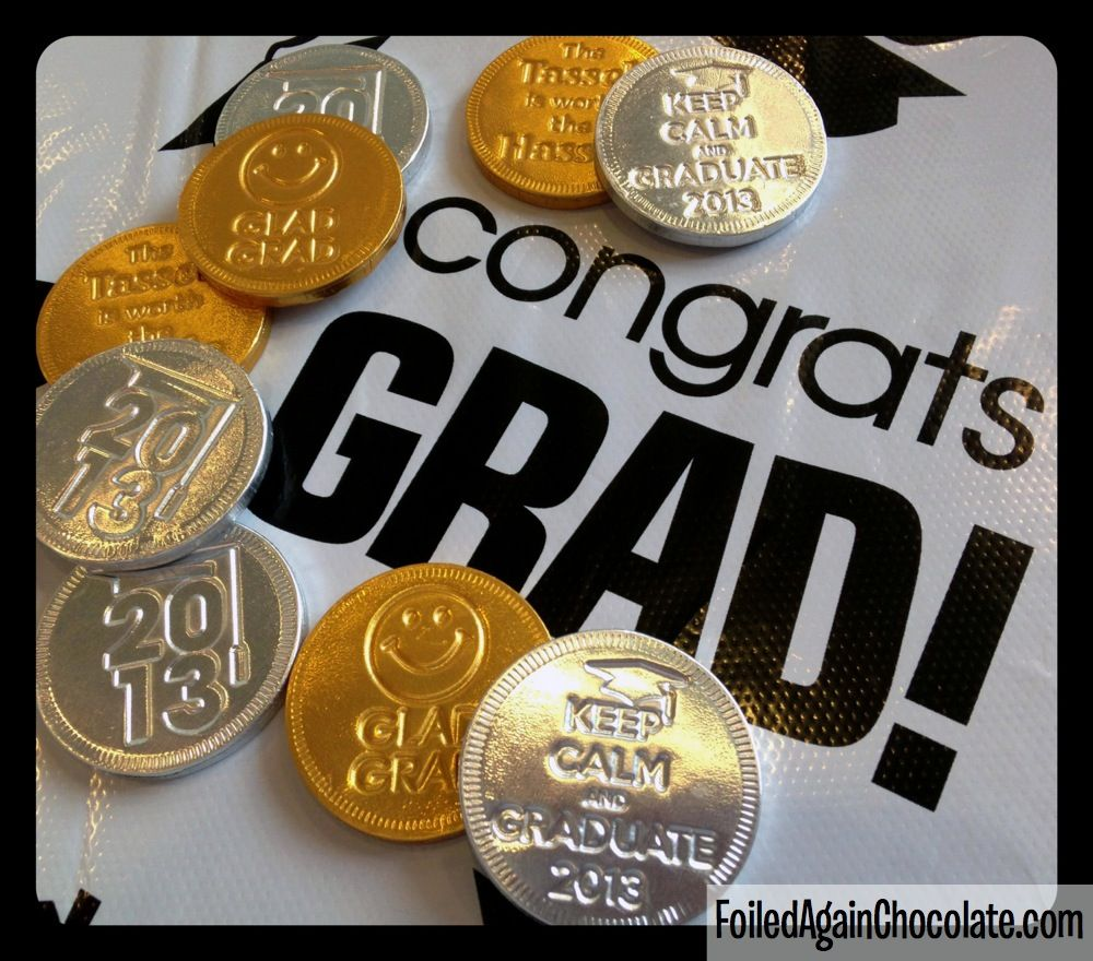Chocolate Grad Coins
