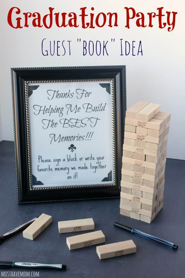 Jenga Guest Book