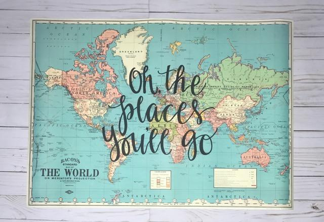 Places You'll Go Map