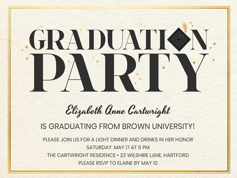 Best High School Graduation Party Ideas