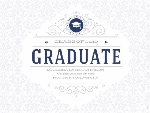 Class of 2019 templates for graduates on Smilebox