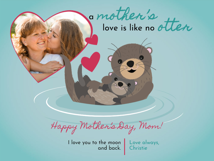 Customizable Mother's Day card from Smilebox