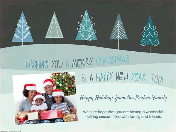 Christmas Card Writings