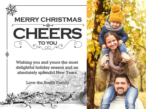 Christmas Card Text