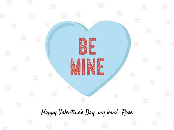 Valentines Day Card Messages