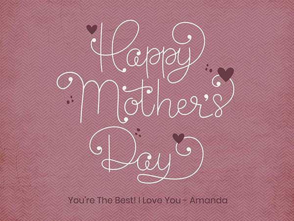 Mother's Day Card Messages