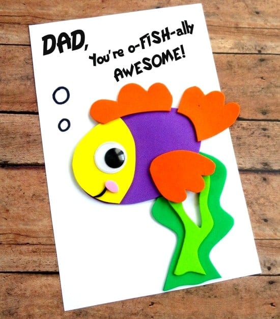 Great Ideas for Father's Day Cards   DIY
