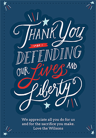What to Write on Your Veterans Day Greeting Card