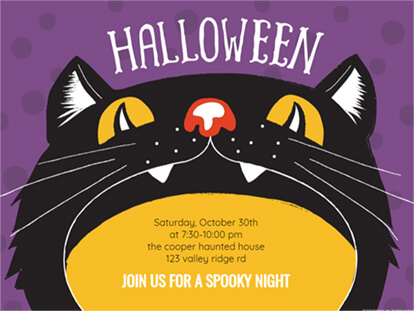 Ideas for Spooky Halloween Invitations