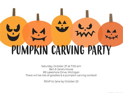 Creepy Halloween Invitation Ideas | Smilebox