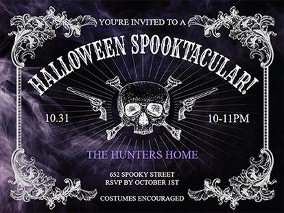 Halloween Invitations Idea