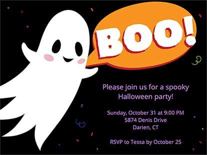 Ideas for Halloween Invitations