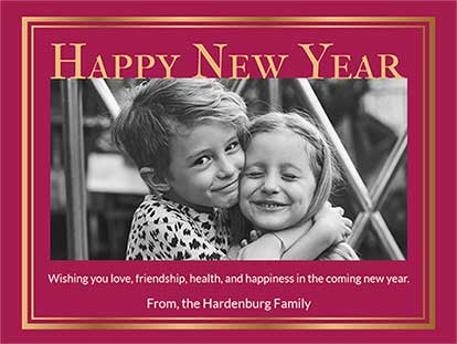 New Year Card Messages and Sayings