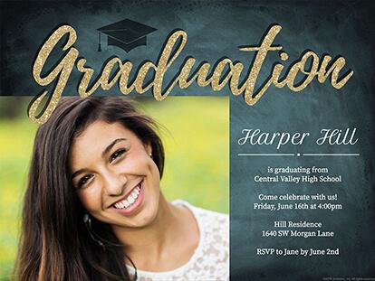 Online Graduation Announcement Idea