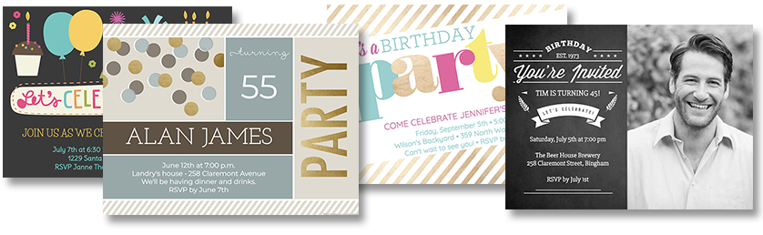 Online Birthday Invitations From Smilebox