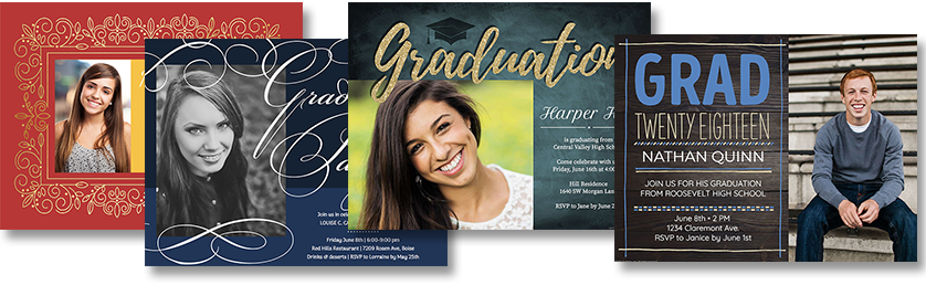 Online graduation invitations from smilebox guarantee glory smilebox the graduation invitation maker is simple for anyone to use in 4 easy steps stopboris Gallery
