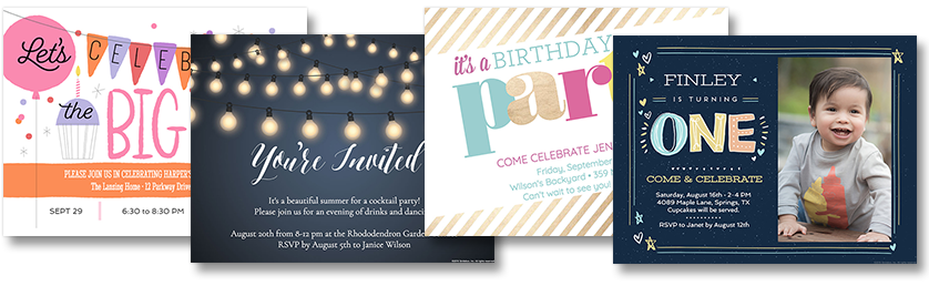 Of Course You May Love Your Customized Online Invitation So Much That Print It Anyways A Step Made Simple By Smilebox Making An Is